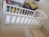 John Lewis Baby Cot with an extra microfibrer hypoallergenic mattress