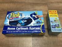 NEW! - Flash car wash system + extra shampoo + extra filter