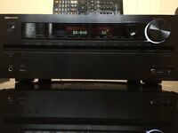 ONKYO TX-NR616 THX CERTIFIED HDMI, USB/IPOD, 3D, 4K UPSCALING, NETWORK SPOTIFY, RADIO 7.2 RECEIVER.
