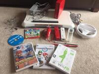 Red Wii console bundle