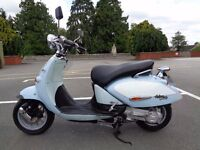 2002 APRILIA HABANA MOJITO CUSTOM 125 4T RETRO SCOOTER MOPED NEW MOT & TAX GWO