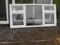 White PVC Window for Sale with 4 openings and window cill