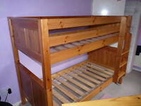 Solid Wood Pine Bunk Beds