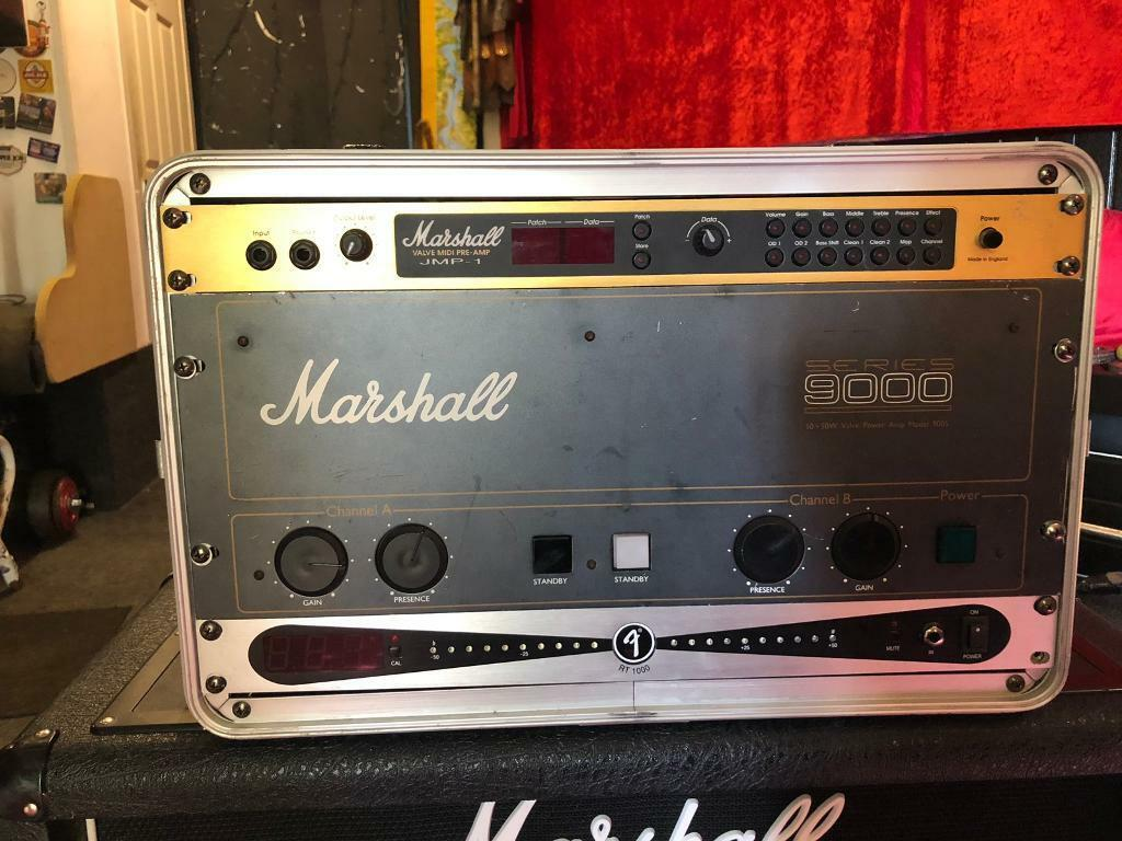 Marshall JMP-1, Series 9000 power, Fender RT 1000 tuner | in Gunnislake,  Cornwall | Gumtree