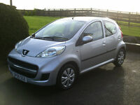 2009 PEUGEOT 107 URBAN 1.0 MOT NOV 2017 ONLY 63K F.S.H £30 ROAD TAX.............£2500