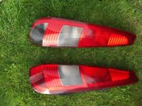 2 back lamps OS and NS Ford Fiesta mk6