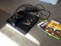 Xbox 360 with 2 games