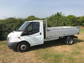 *ONLY 58,000 MILES* FORD TRANSIT t350 2.4 DIESEL DROPSIDE TRUCK 2007 07-REG EXCELLENT CONDITION