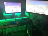 Gaming PC with all set up