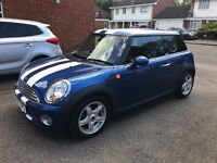 Blue MINI Hatch 1.4 One 3dr Great first car, low annual mileage!
