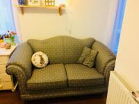 Beautiful blue sofa for sale