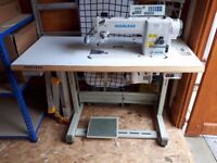 INDUSTRIAL HIGHLEAD FLAT BED SEWING MACHINE