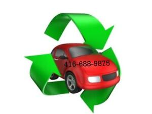 CALL 416-688-9875 we pay cash for SCRAP CARS AND USED CARS 200-5000$
