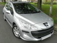 Peugeot 308 1.6 hdi 2011 - 5dr - full service history - long mot - road tax only £30 a year -