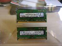 8GB (2x4GB) DDR3L 1600mhz Sodimm ram