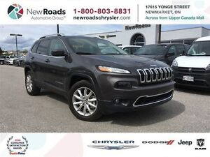 2016 Jeep Cherokee 4x4 Limited|SUNROOF|BACKUP CAMERA|LEATHER