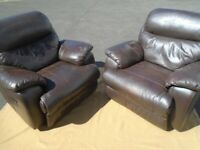 LEATHER RECLINER CHAIRS at Haven Trust's charity shop at 247 Radford Road, NG7 5GU