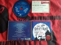 The Drifters HAND SIGNED autograph up on the roof the very best of 2012 with ticket stub.