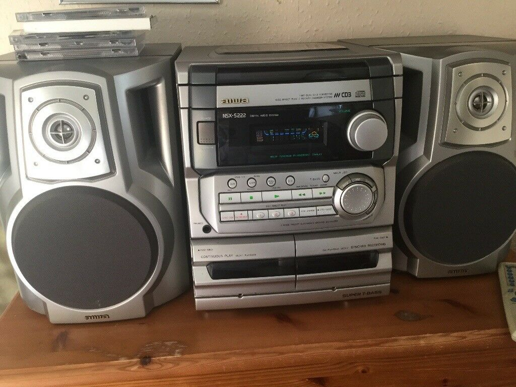 Aiwa nsx s222 digital audio system in brighton east for Stereo casa