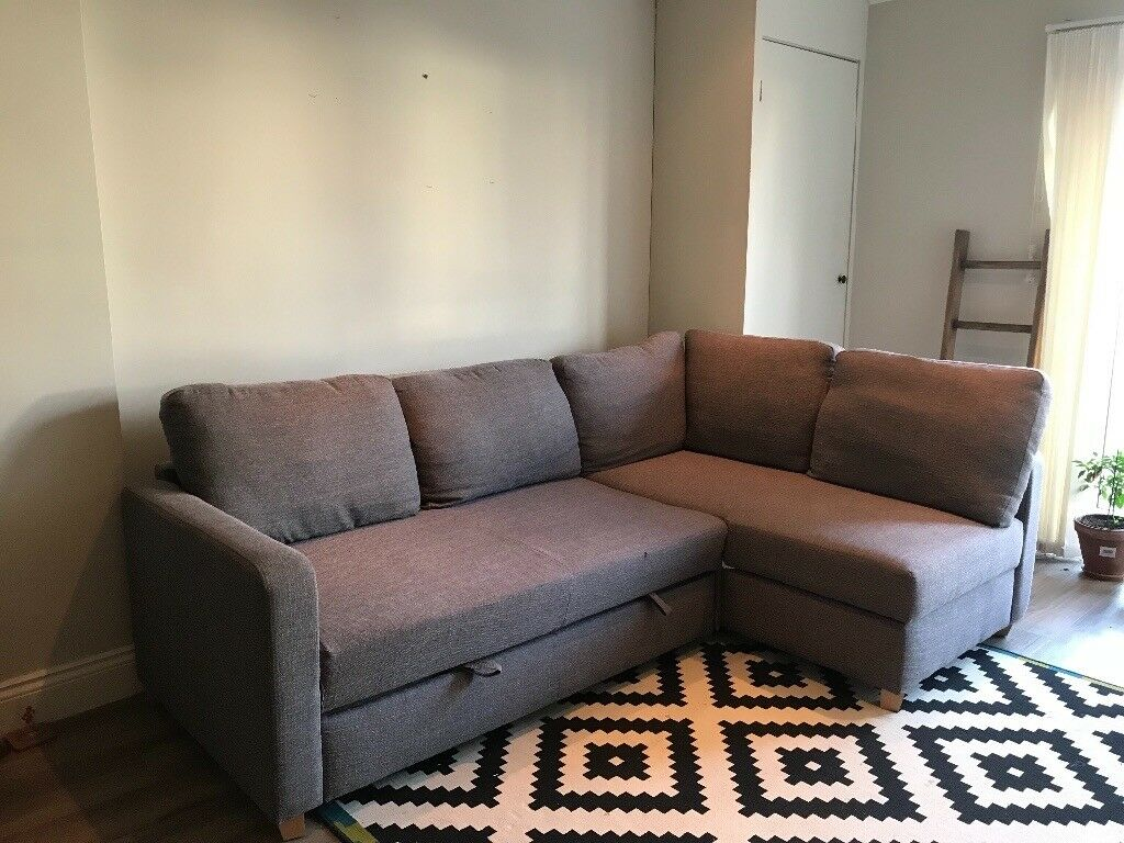 Marks And Spencer Three Seater Corner Sofa Bed In Henleaze