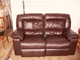 electric recling settee