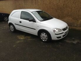 Vauxhall corsa van ex BT 2006 reg imaculate condition inside and out runs and drives without fault.