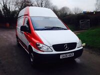 Mercedes vito lwb high roof long mot starts and drives perfect