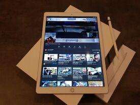 iPad Pro 12.9 128gb Rose Gold - 1st Gen - Wifi Only + Apple Pencil