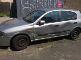 Nissan Almera 1.8 for sale or parts