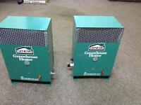Greenhouse heaters x 2