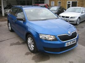 2015 SKODA OCTAVIA 1.6 DIESEL AUTOMATIC ESTATE. REDUCED TO £9995