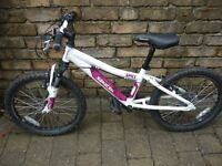 Girls Saracen Spice Bike 20 inch wheels Cost new £165