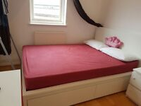 IKEA Pocket sprung mattress for European double bed RRP £540 it's in excellent conditions