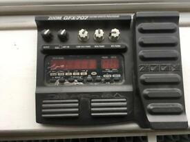 Zoom GFX-707 Guitar Effects Processor