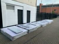 Selection of brand new silver crush beds bases and diamonds headboard double £150,king £170