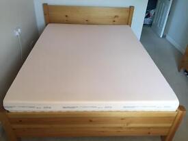 Warren Evans Shaker Kingsize Bed, 7 drawer chest & bedside cabinet