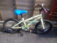 Girls Apollo bike 18inch