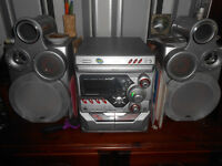 jvc stereo /cd and tape player.