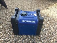 HYUNDAI HY3600SEI DIGITAL INVERTER GENERATOR. Maximum of 3400w power!