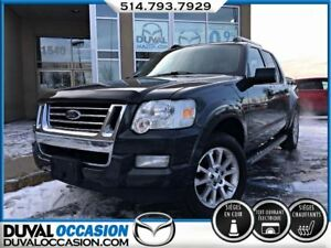 2009 Ford Explorer Sport Trac Limited V8 + MARCHE PIED + CUIR +