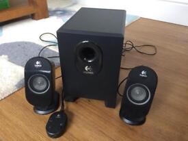 Logitech X-210 PC Speaker system
