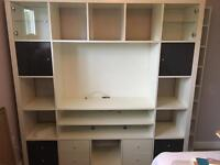 TV and storage unit