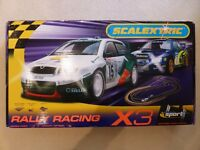 Scalextric Rally Racing X3 Excellent Condition