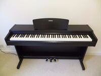 Yamaha Arius YDP-131 Digital Piano in rosewood, weighted keys, 3 pedals, piano stool, FREE DELIVERY