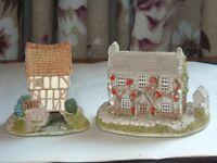 Two Lilliput Lanes Cottages