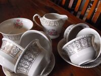 SOLAIN WARE - SIMPSON(POTTERS) , COBRIDGE, ENGLAND TEA SET
