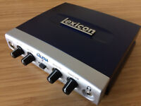 Lexicon Alpha Recording Studio Audio Interface + Steinberg Cubase LE 4 Software for Sale!