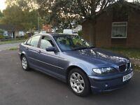 2004 BMW 318 SE MET BLUE 5 DOOR MANUAL