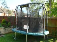 Brand New Jumpking Oval Trampoline 10ftx7ft - Exclusive to John Lewis