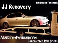 JJ Recovery prices start from as little as £15